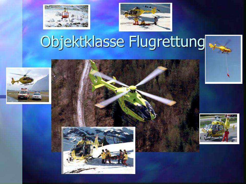 Objektklasse Flugrettung In ganz Österreich