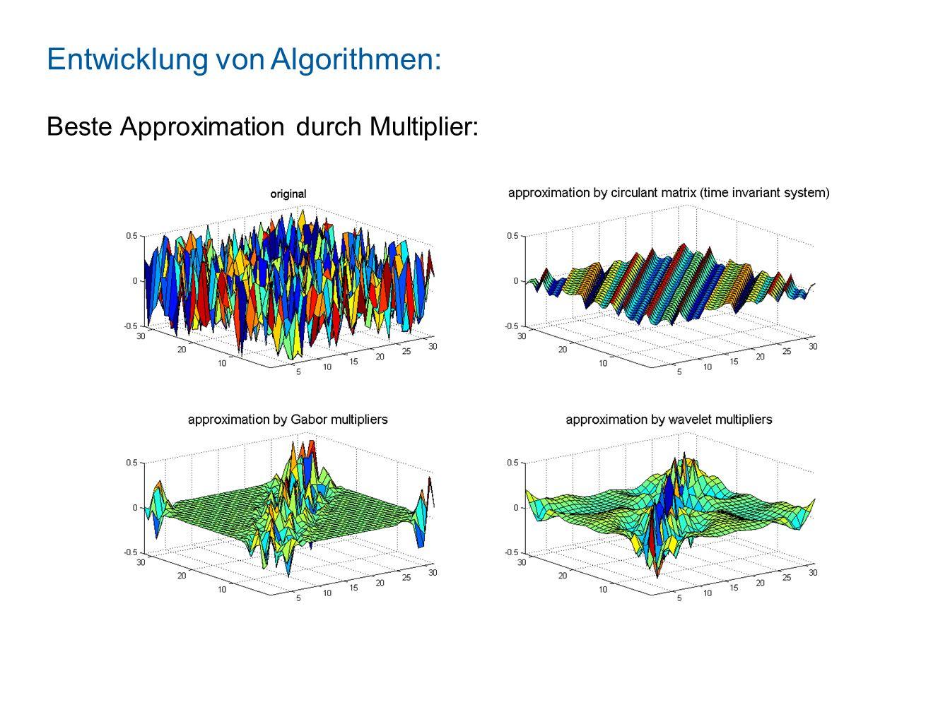 Mathematische Aussagen: Frame Multiplier Diese werden formal bewiesen! Zum Beispiel:
