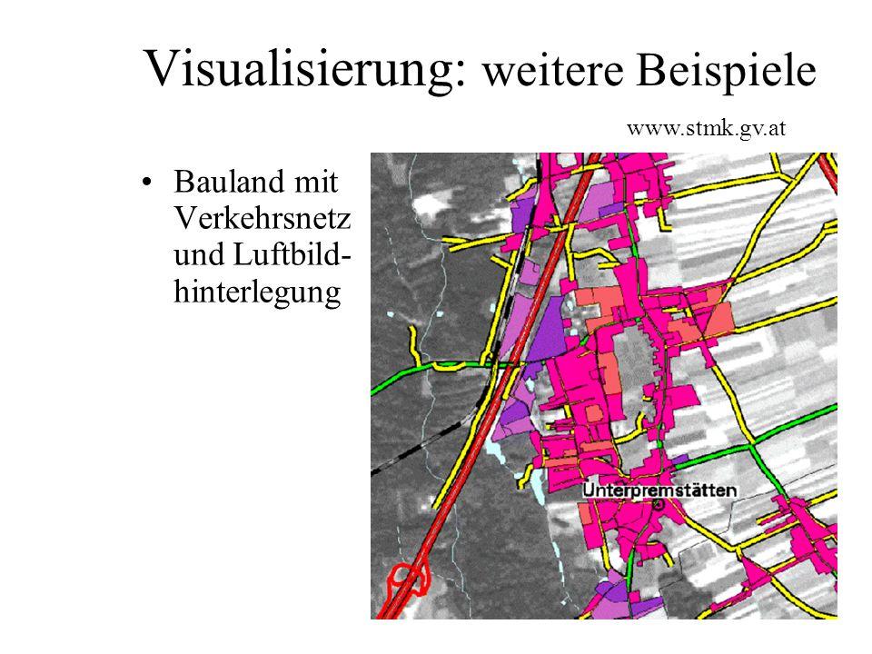 Visualisierung: weitere Beispiele 3D-Darstellungen und Animation www.joanneum.at