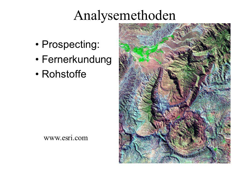 Analysemethoden: Abfrage Katastrophen- und Zivilschutz tiris.tirol.gv.at/