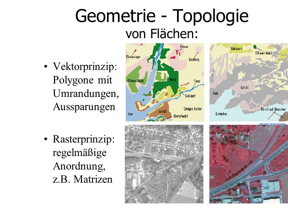 Beispiele GIS Stmk - Satellitenbild Landsat-TM 30m * 30m Bodenauflösung, naturnahe Einfärbung