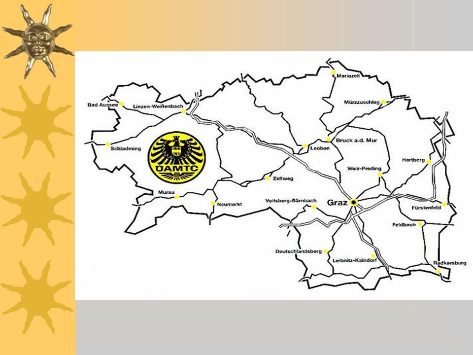 Attribute ÖAMTC Stellen Steiermark Gegründet 1896 Wirtschaftlich u.
