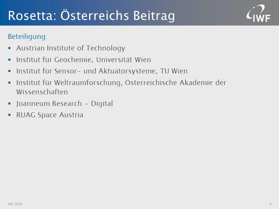 Beteiligung: Austrian Institute of Technology Institut für Geochemie, Universität Wien Institut für Sensor- und Aktuatorsysteme, TU Wien Institut für
