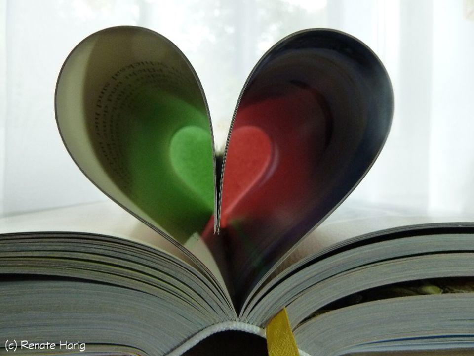 Zufrieden du dein Buch betrachtest, du auf besond re Dinge achtest, die früher du niemals gesehen, bei Erinnerungen bleibst du stehen und wie ein schöner, bunter Reigen wird sich dein Lebensbuch dir zeigen.
