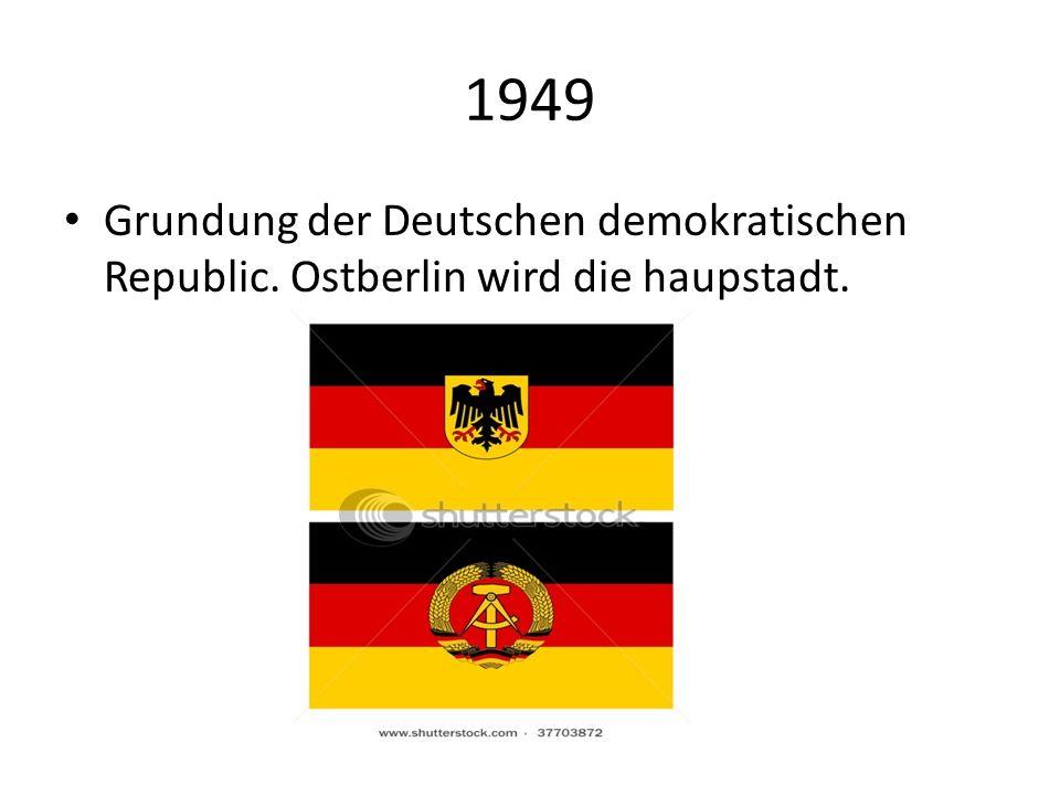 1961 Beginn des Mauerbaus um westberlin