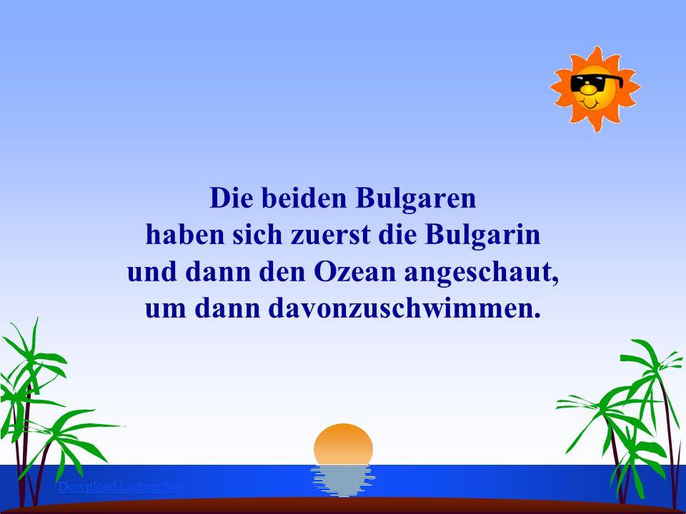 Download.Loeben.Net Die beiden Bulgaren haben sich zuerst die Bulgarin und dann den Ozean angeschaut, um dann davonzuschwimmen.