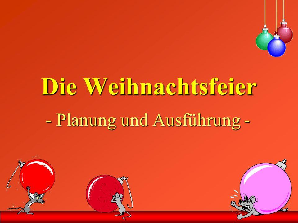 1.Dezember Betr.: Weihnachtsfeier Liebe Mitarbeiterinnen und Mitarbeiter.