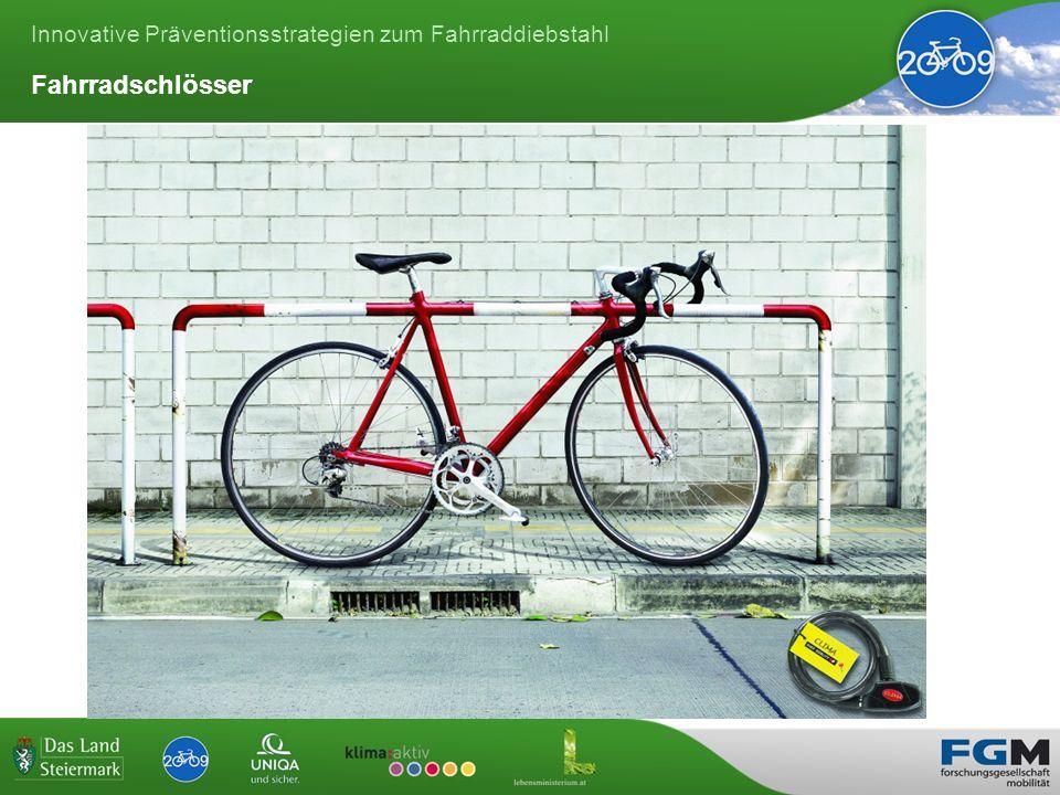 Innovative Präventionsstrategien zum Fahrraddiebstahl Fahrradschlösser