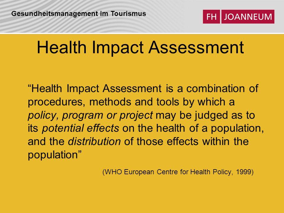 Gesundheitsmanagement im Tourismus Gesundheitsdeterminanten Dahlgren & Whitehead, 1991