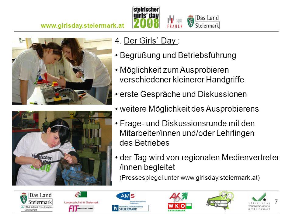 www.girlsday.steiermark.at 8 5.