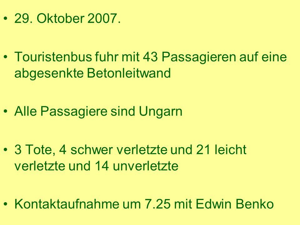 29. Oktober 2007.