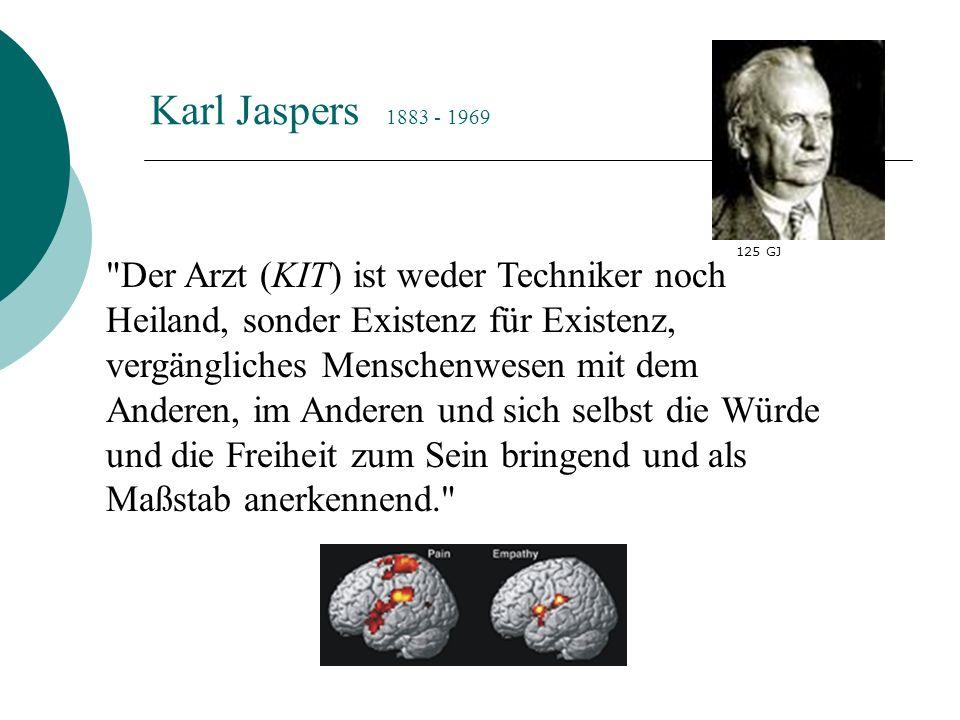 Karl Jaspers 1883 - 1969