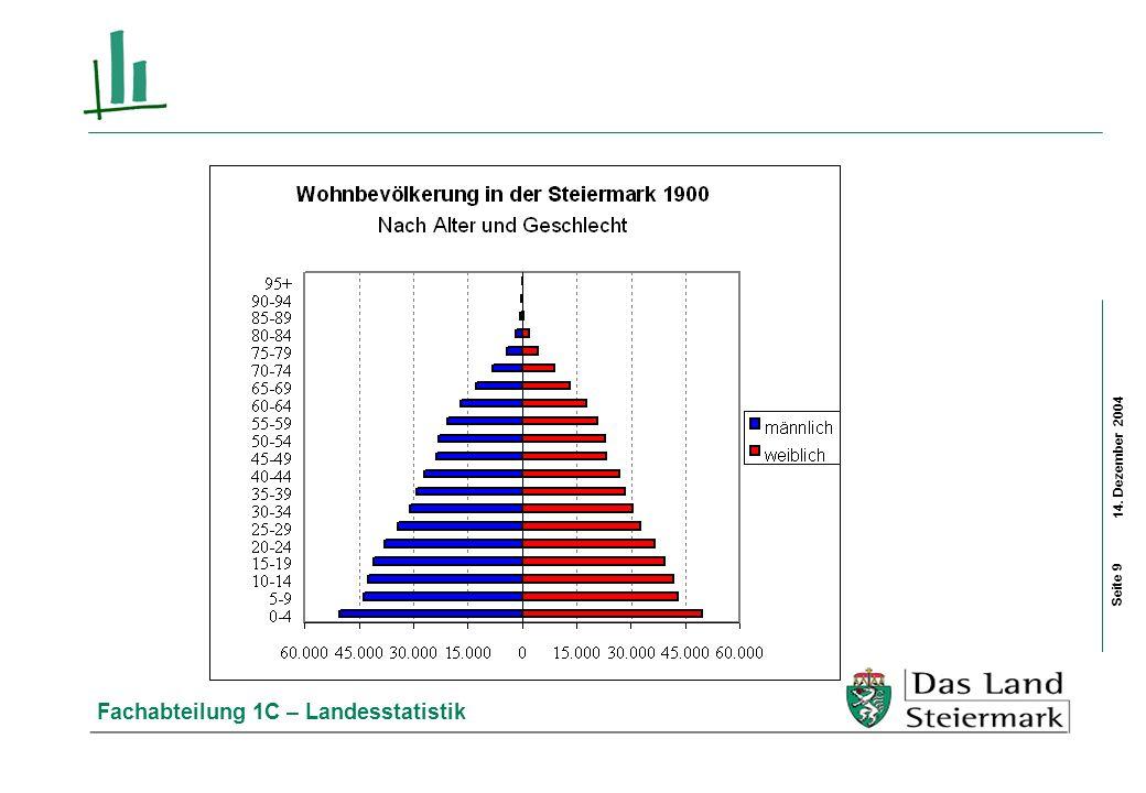 14. Dezember 2004 Fachabteilung 1C – Landesstatistik Seite 20