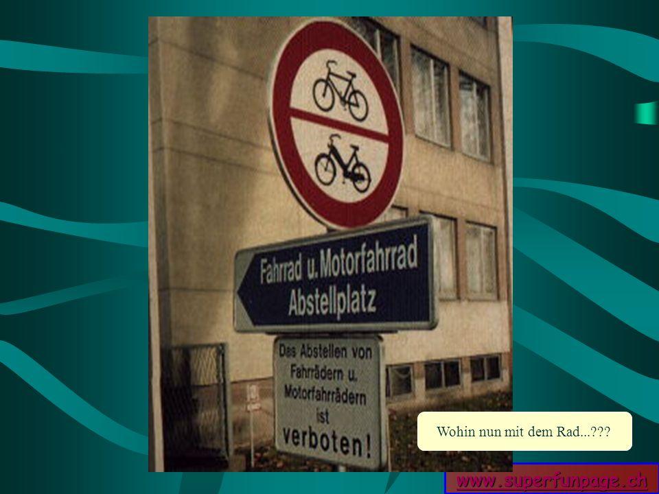 www.superfunpage.ch Wohin nun mit dem Rad...???