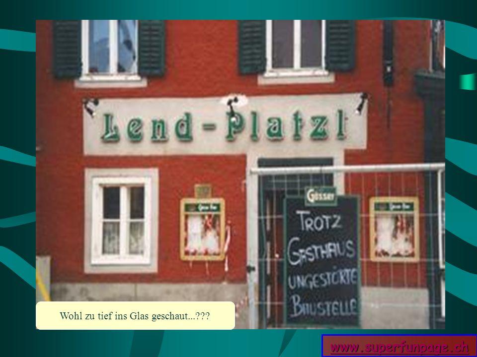 www.superfunpage.ch Wohl zu tief ins Glas geschaut...???