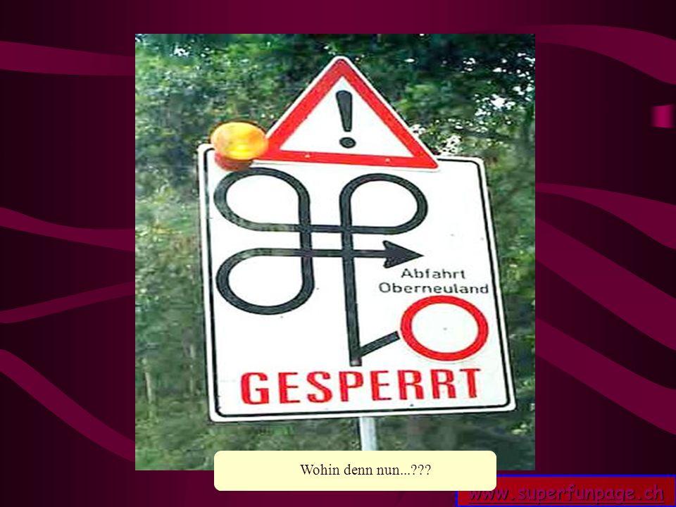 www.superfunpage.ch Ja was denn nun??? Wohin denn nun...???