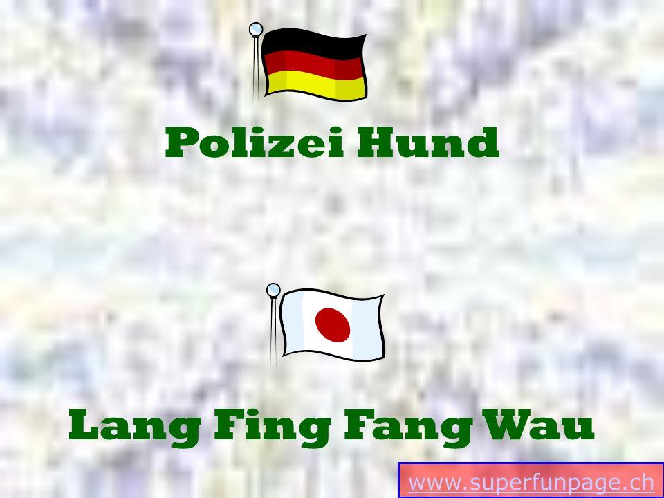 www.superfunpage.ch Lang Fing Fang Wau Polizei Hund