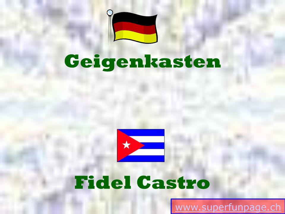 www.superfunpage.ch Fidel Castro Geigenkasten