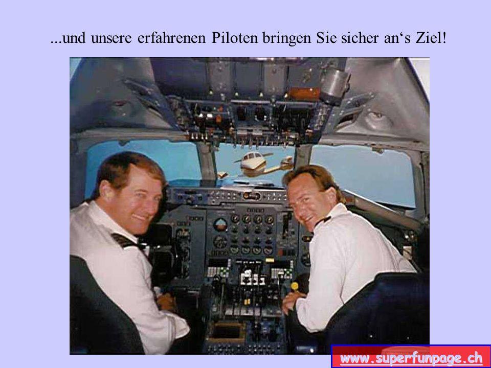 Gewissenhafte Techniker halten unsere Flieger in Schuß... www.superfunpage.ch