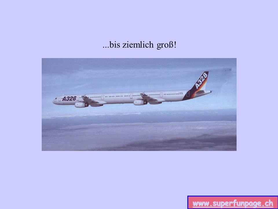 www.superfunpage.ch Unsere Flugzeugpalette reicht von ganz klein...