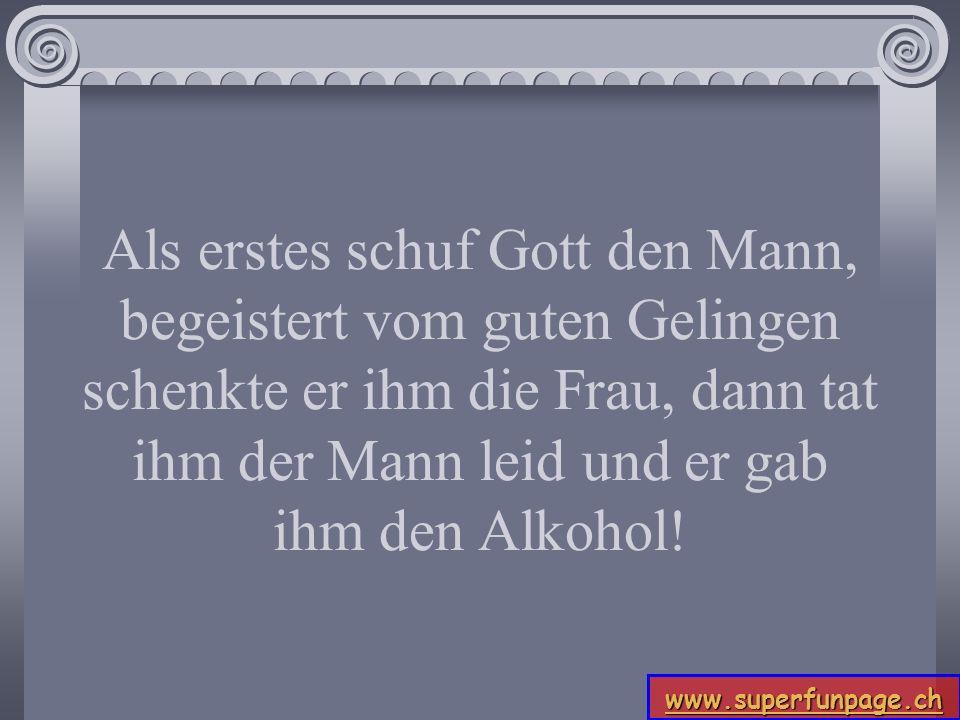 www.superfunpage.ch Meldung des Tages: Männer haben viele Gene.