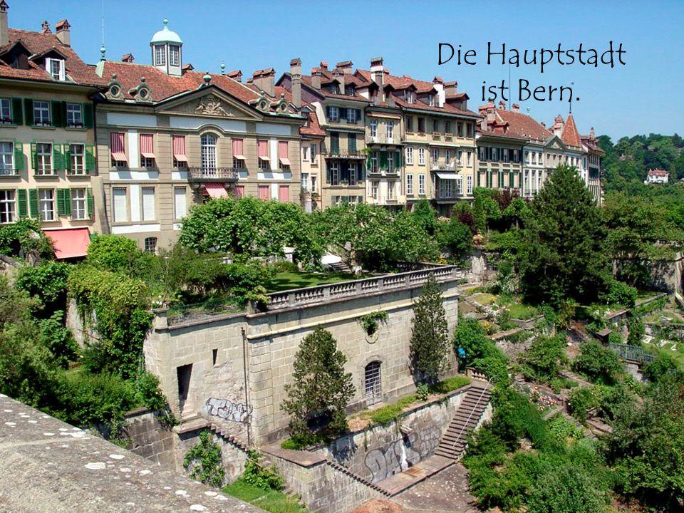 13 Die Hauptstadt ist Bern.