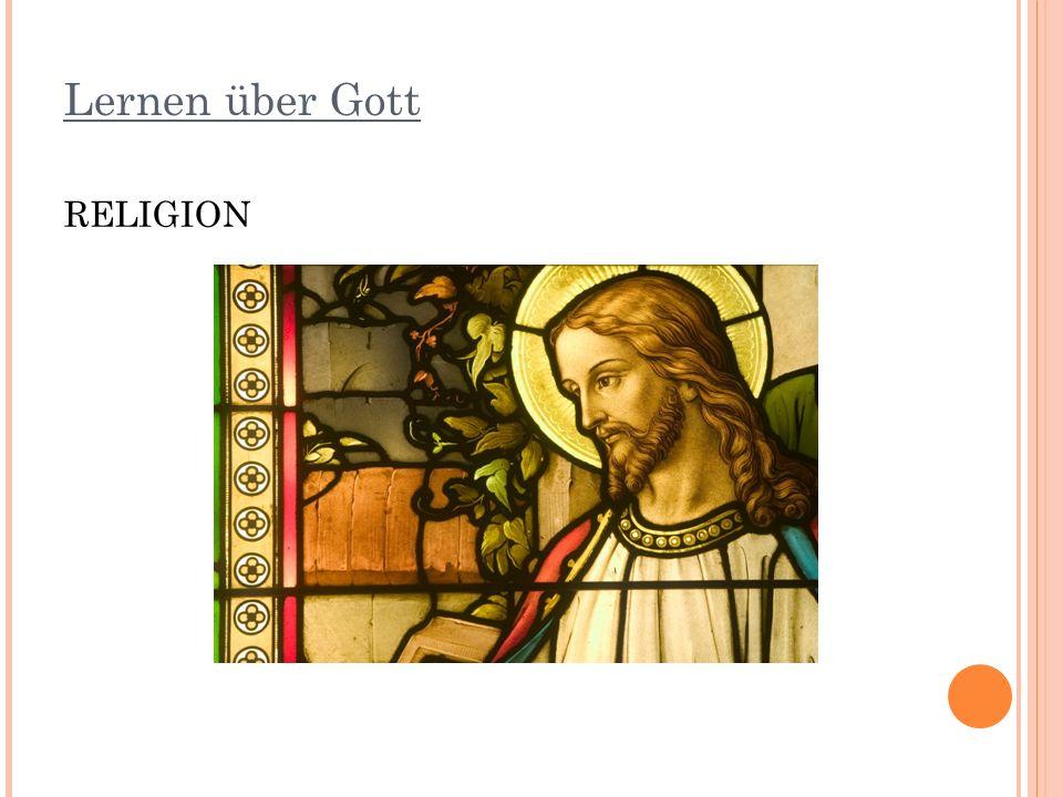 Lernen über Gott RELIGION