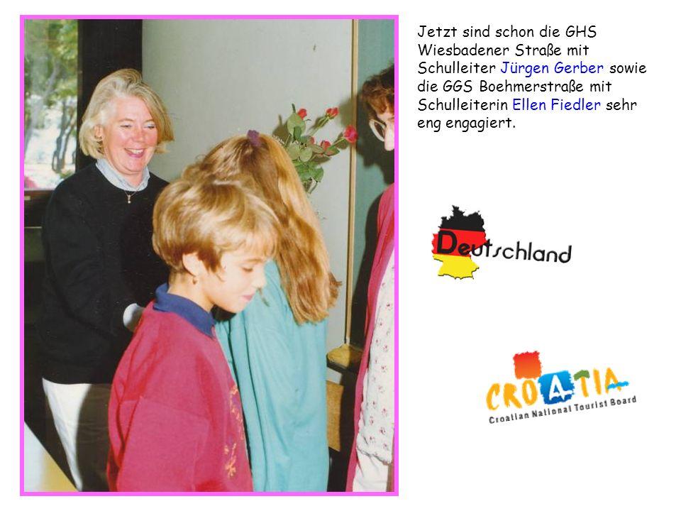 Jetzt sind schon die GHS Wiesbadener Straße mit Schulleiter Jürgen Gerber sowie die GGS Boehmerstraße mit Schulleiterin Ellen Fiedler sehr eng engagie