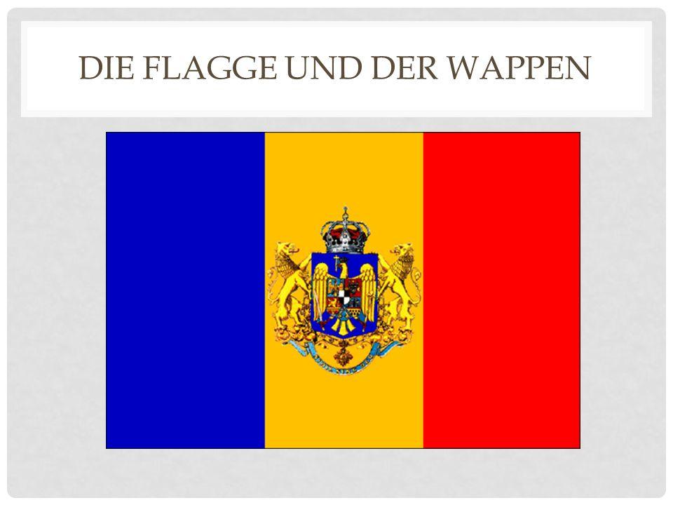 DIE FLAGGE UND DER WAPPEN