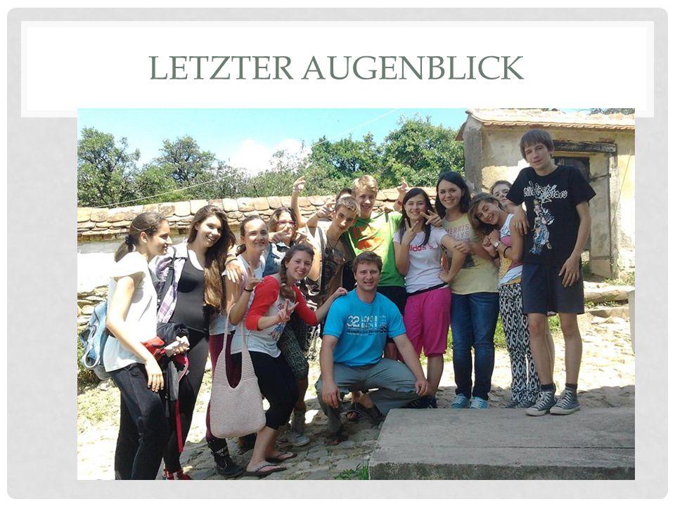 LETZTER AUGENBLICK