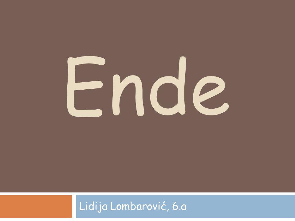 Ende Lidija Lombarović, 6.a