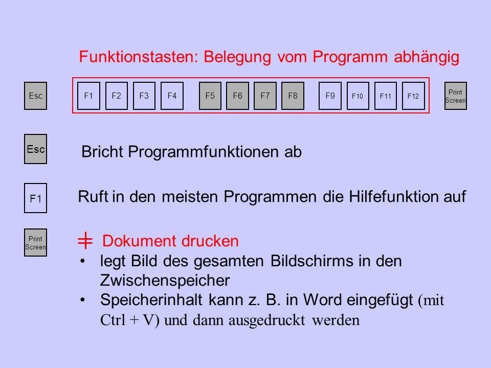 Lade bitte das Dokument IT_Grundlagen (im Klassen-Verzeichnis) und navigiere mit dem Steuerblock im Dokument.