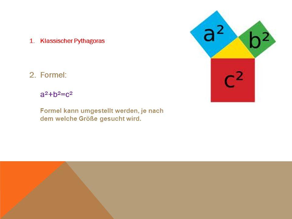 2. Höhensatz des Euklid 2.1 Formel: h²=pxq