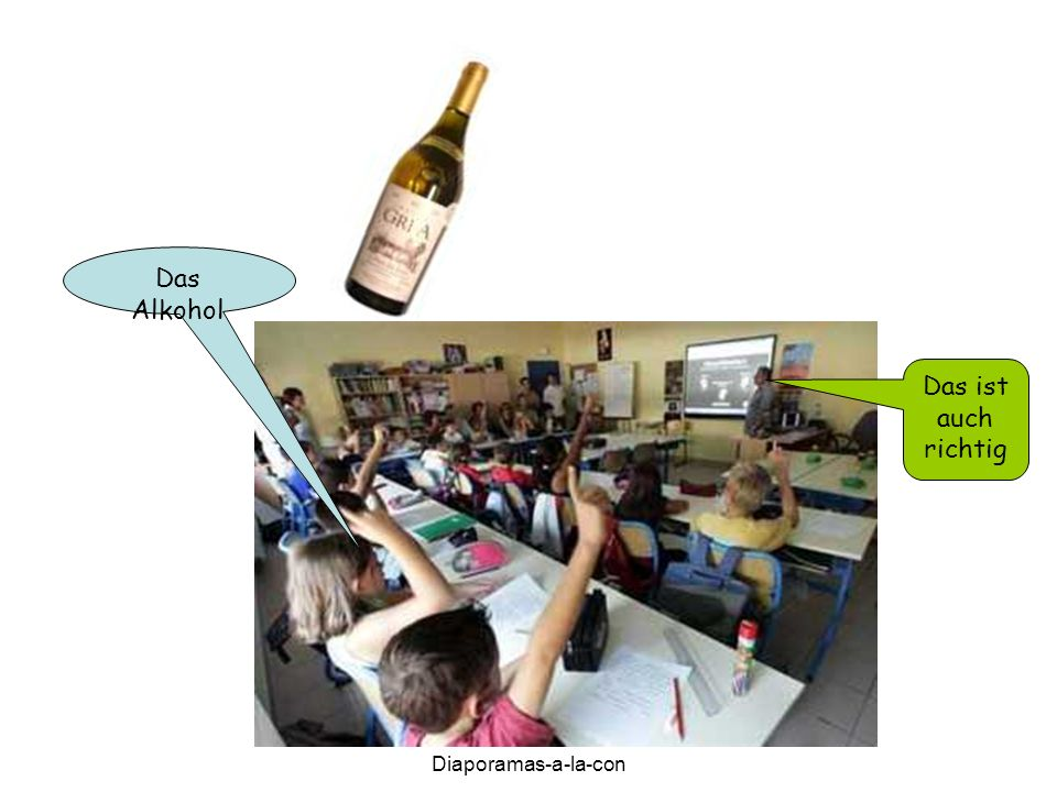 Diaporamas-a-la-con Das Alkohol Das ist auch richtig