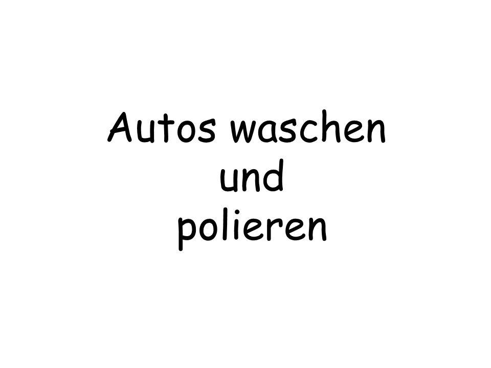 Autos waschen und polieren