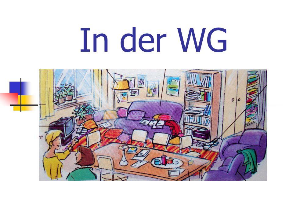 Die Zimmer in einer WG