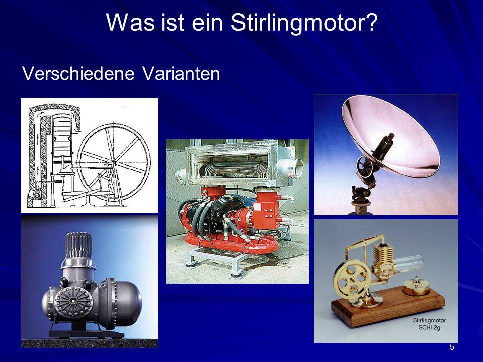 5 Was ist ein Stirlingmotor? Verschiedene Varianten