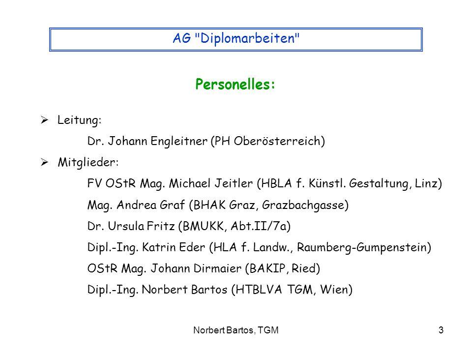 Norbert Bartos, TGM3 AG