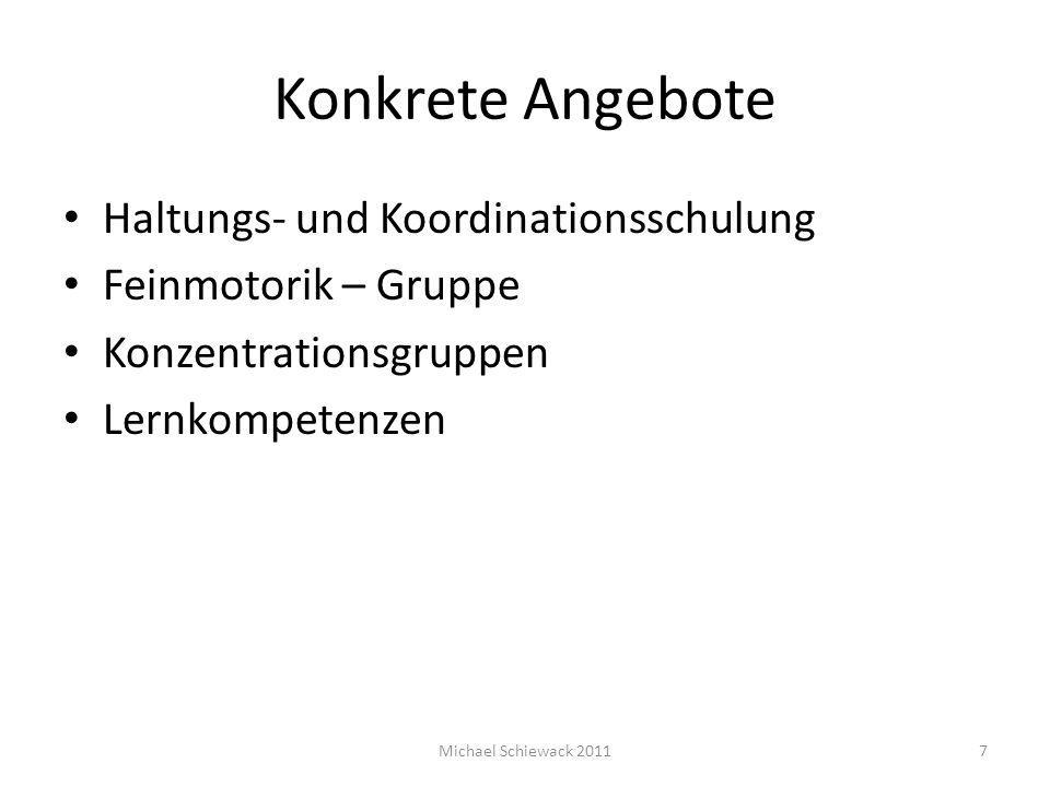 Haltungs- und Koordinationsschulung Kinder von 1.– 3.
