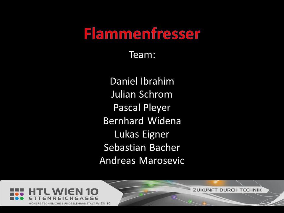 Team: Daniel Ibrahim Julian Schrom Pascal Pleyer Bernhard Widena Lukas Eigner Sebastian Bacher Andreas Marosevic