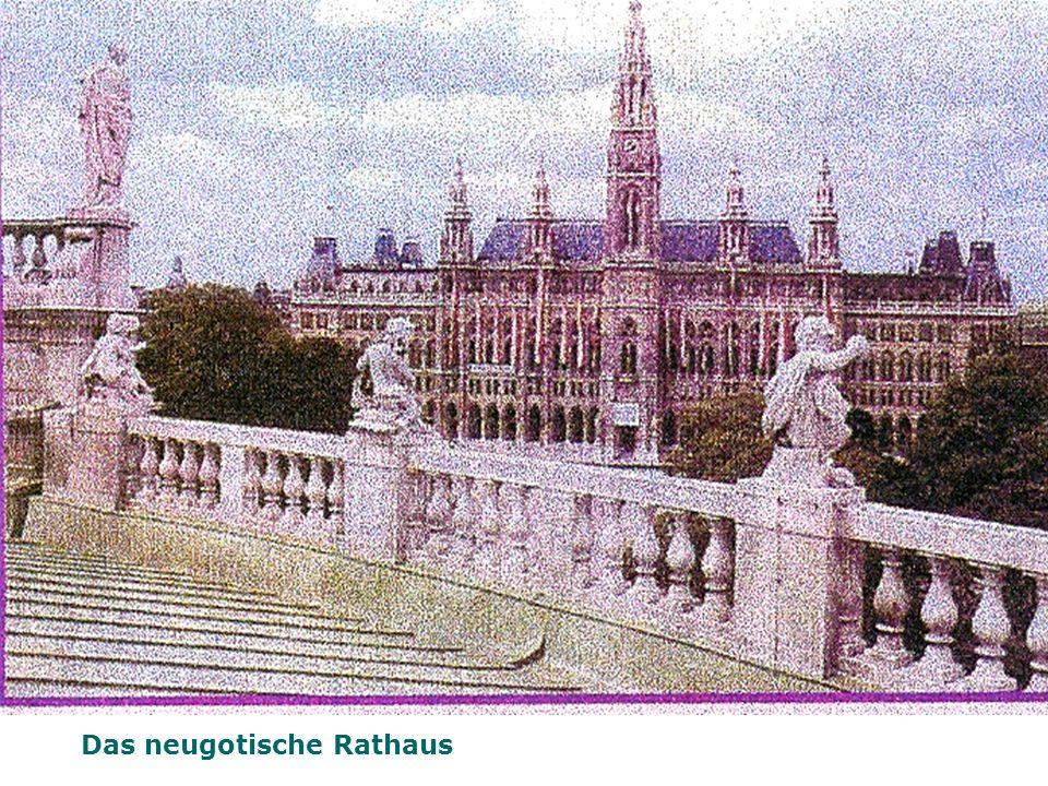 Das neugotische Rathaus