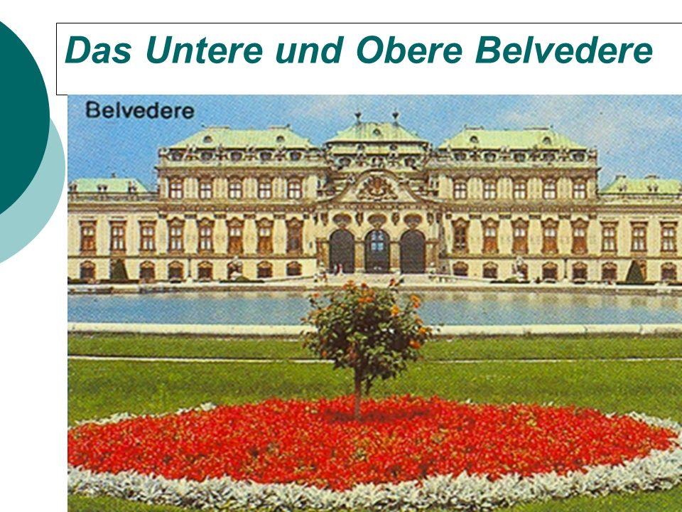 Das Untere und Obere Belvedere
