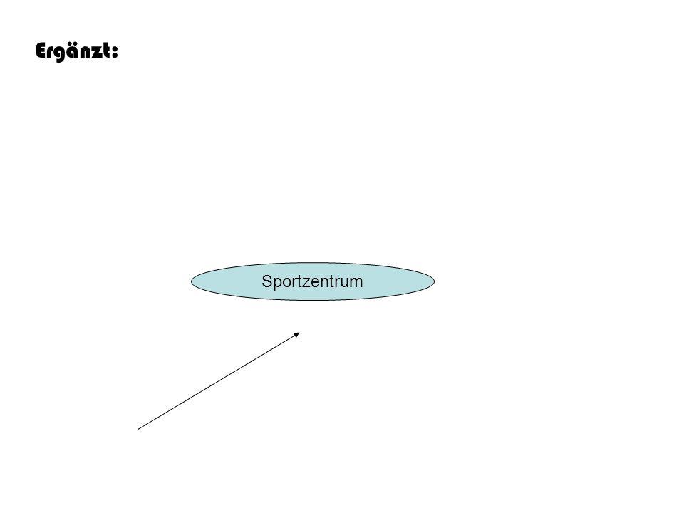 Sportzentrum Ergänzt:
