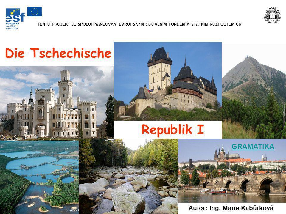 offizielle Bezeichnung: Tschechische Republik ein Staat in Mitteleuropa Zwei gleich große horizontale Streifen (weiß und rot) mit einem blauen gleichseitigen Dreieck auf der Seite des Fahnenmastes.