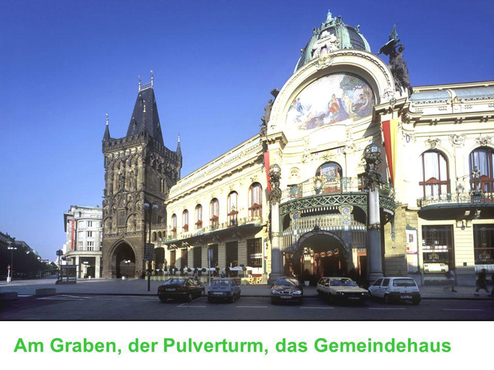 Am Graben Der Pulverturm Gemeindehaus (Repräsentationshaus) Am Graben, der Pulverturm, das Gemeindehaus