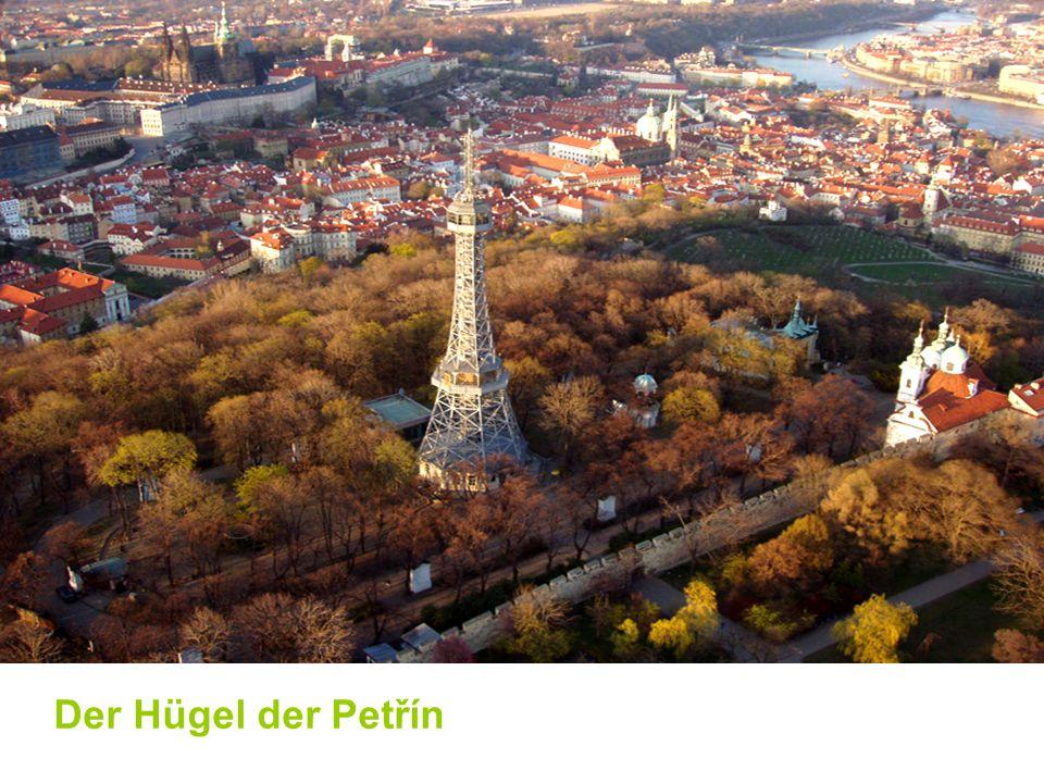 Der Hügel der Petřín