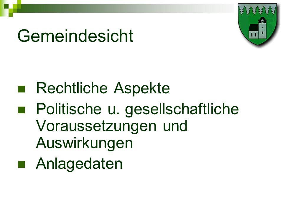 Rechtliche Aspekte NÖ Raumordnungsgesetz 1976 ( LGBl 8000, § 19, Abs.