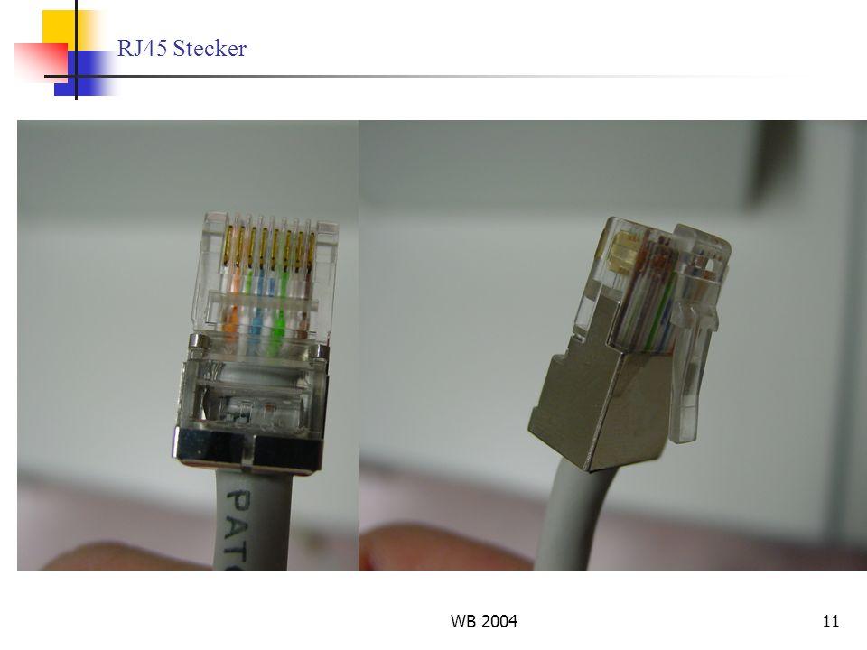 WB 200411 RJ45 Stecker