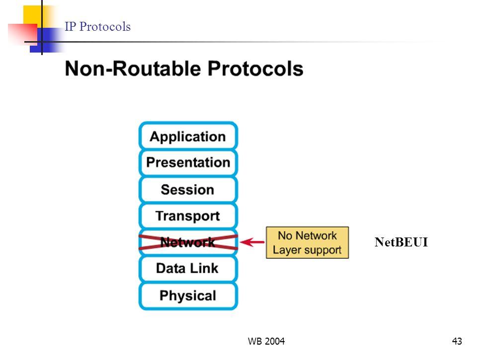 WB 200443 IP Protocols NetBEUI