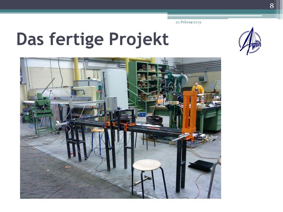 Stationen der Automatisierten Teilfertigung: Erste Station: Magazin Zweite Station: Bohren und spannen Dritte Station: Auswurf 20.